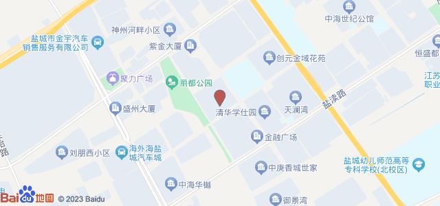 金都华府 地图