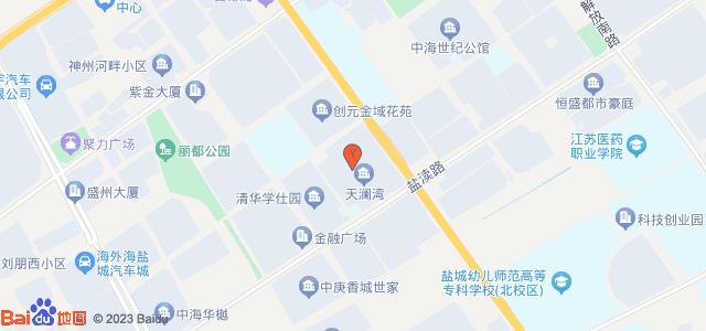 天澜湾 地图