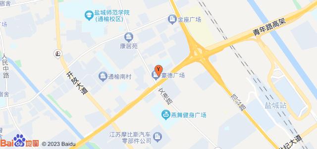 豪德广场 地图