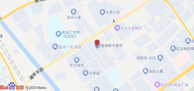富建·都市壹号 地图
