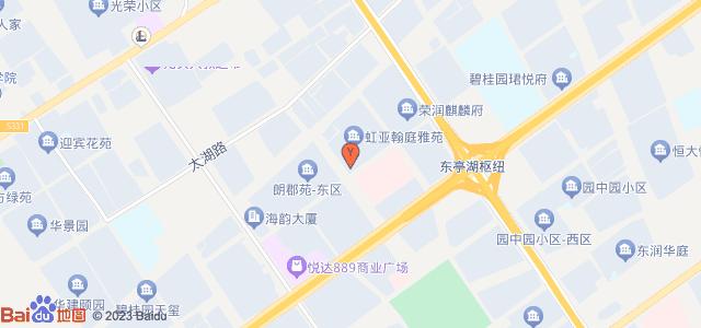 翰庭雅苑 地图