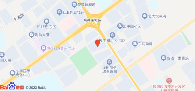 中船·翠湖名邸 地图
