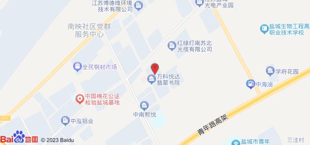 万科悦达·翡翠书院 地图