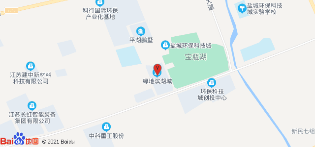 绿地·滨湖城 地图
