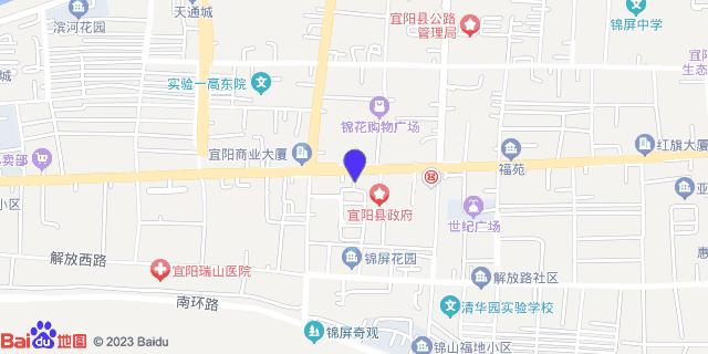 宜阳县人民医院_地图位置
