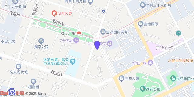 洛阳牡丹妇产医院_地图位置