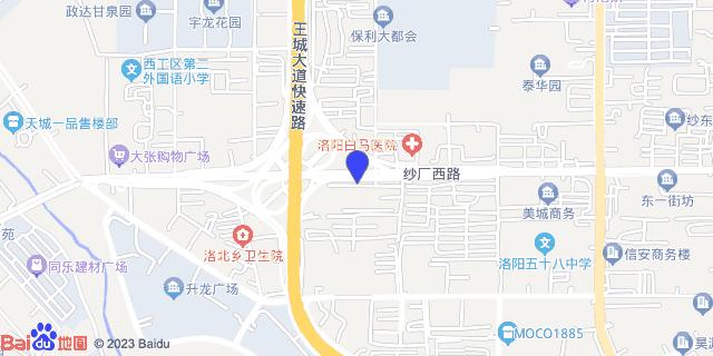 洛阳市白马医院 _地图位置