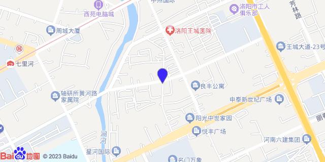 河南省第六建筑工程公司职工医院_地图位置
