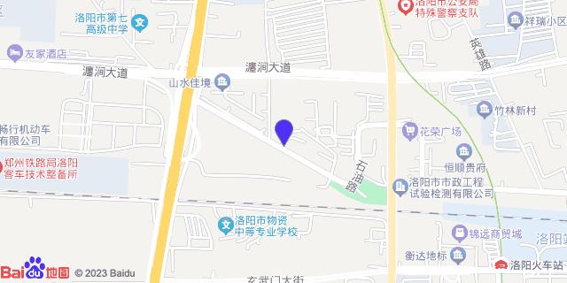 洛阳平民医院_地图位置