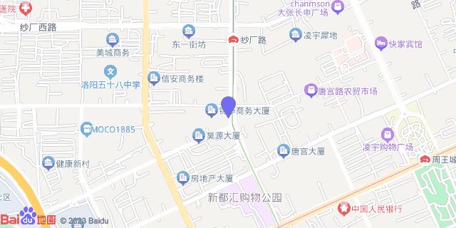 洛阳华康医院 _地图位置