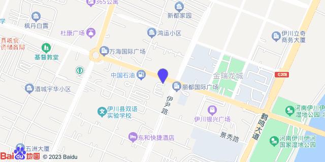 伊川县中医院 _地图位置