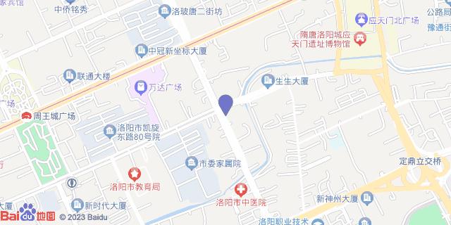 洛阳生殖医学专科医院_地图位置