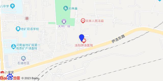 洛阳新区人民医院_地图位置