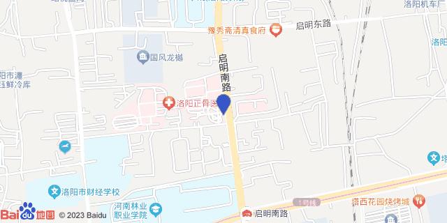 洛阳正骨医院_地图位置