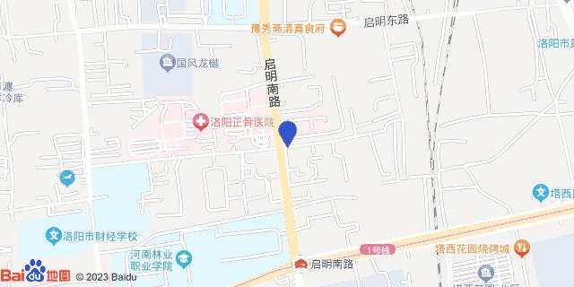 洛阳东都医院_地图位置