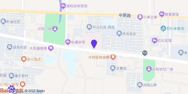 洛阳石化医院_地图位置