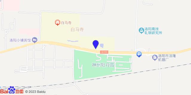 洛阳市荣康医院_地图位置