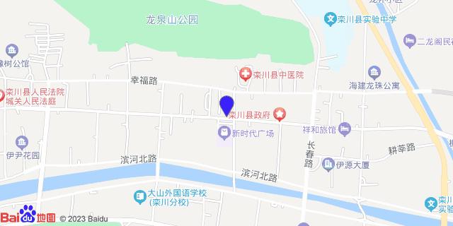 栾川县人民医院_地图位置