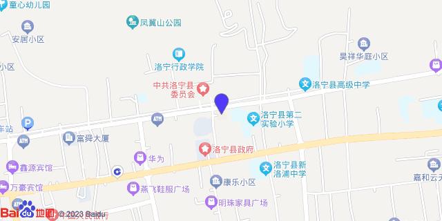 洛宁县中医院_地图位置