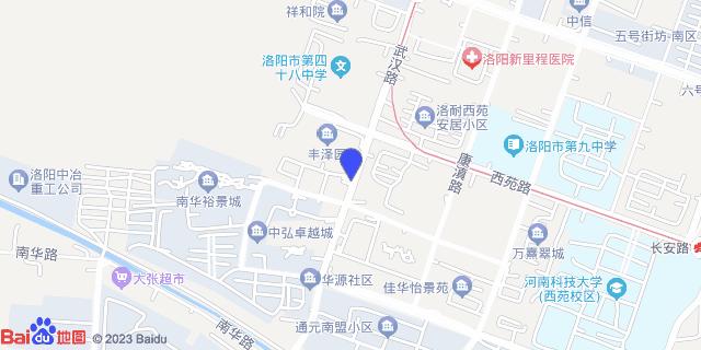 洛阳市第七人民医院_地图位置