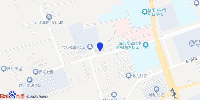 洛阳北方企业集团(原5111厂)职工医院_地图位置