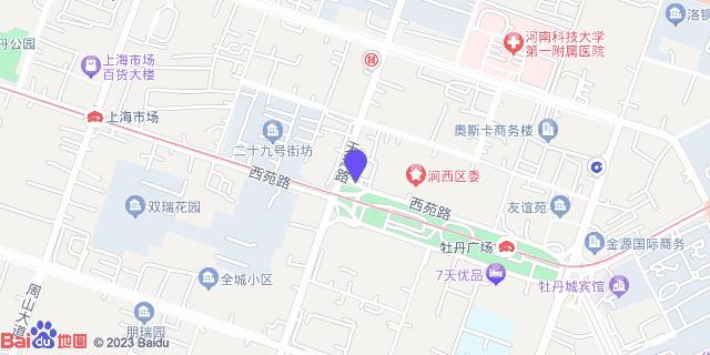 洛阳市第六人民医院_地图位置