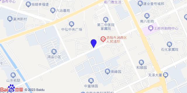 洛阳二0二医院_地图位置