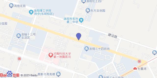 洛阳东大肛肠医院_地图位置
