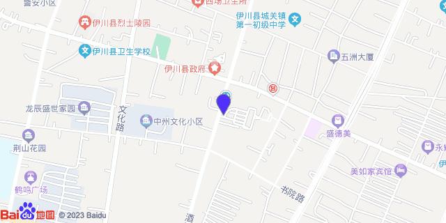 伊川县人民医院_地图位置