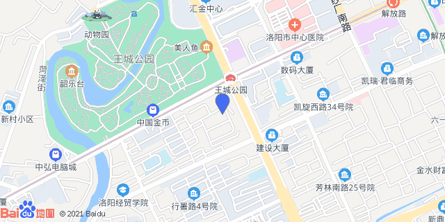 洛阳王城医院 _地图位置