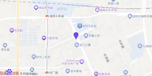 洛阳协和医院_地图位置