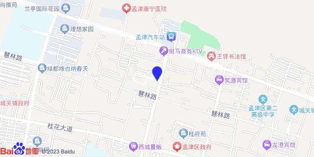 孟津县人民医院 _地图位置