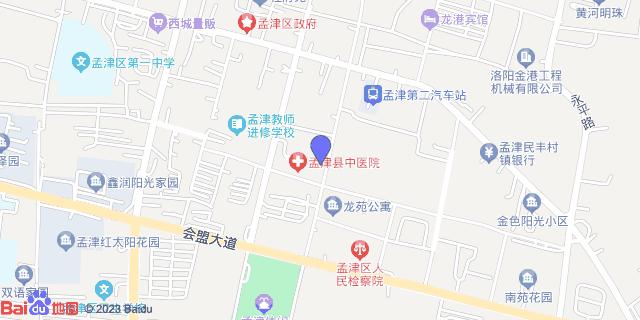 孟津县中医院_地图位置