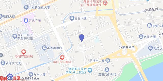 洛阳市第九人民医院_地图位置