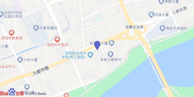 洛阳市中医院_地图位置