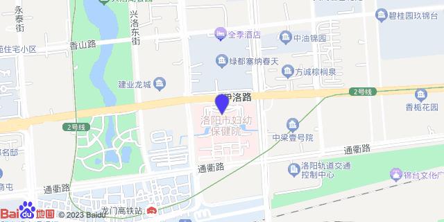 洛阳市妇幼保健院_地图位置
