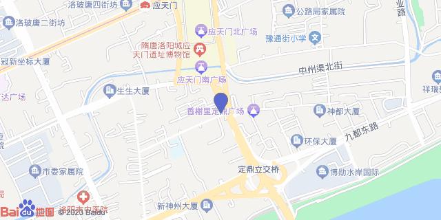 洛阳市第五人民医院_地图位置