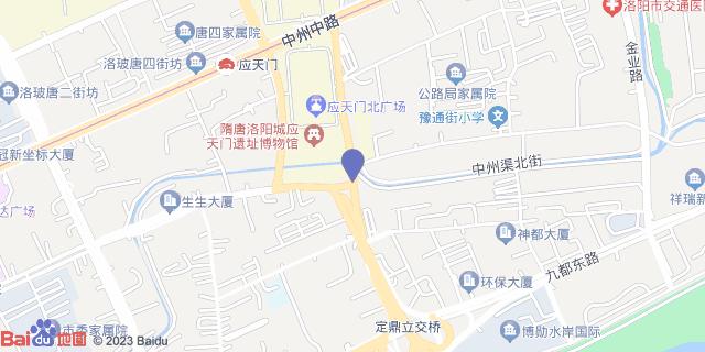 洛阳乳腺病医院 _地图位置