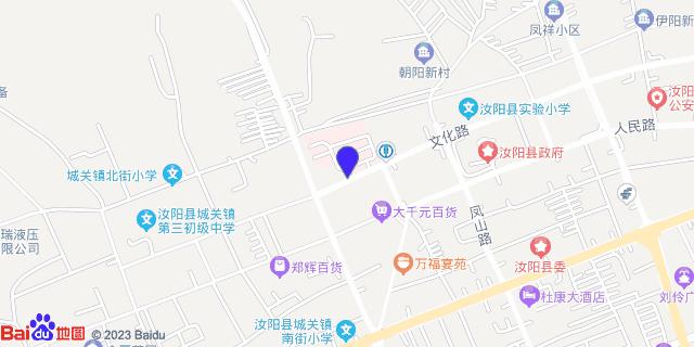 汝阳县人民医院 _地图位置