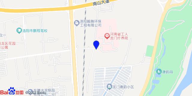河南省工人龙门疗养院_地图位置