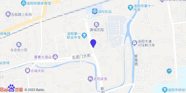 洛阳济仁肾病医院_地图位置