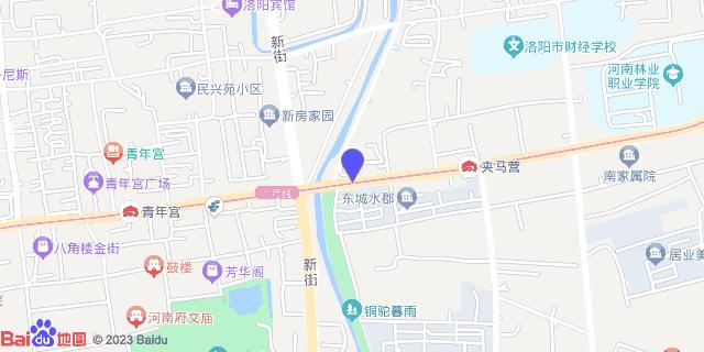 洛阳市第一人民医院_地图位置