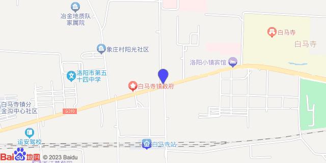 洛阳市精神卫生中心_地图位置