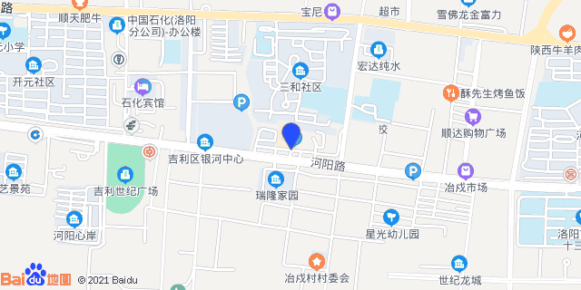 洛阳市吉利区人民医院_地图位置
