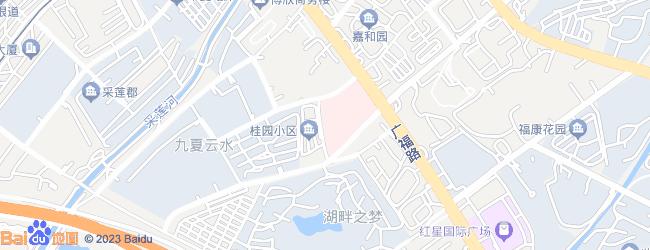 昆明广福路到滇池风景区