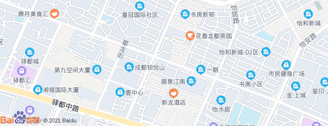 新都大丰镇三元大道-成都塔西南石油图片