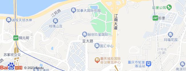融创崇明岛别墅地图