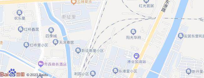秦皇岛东港路地图