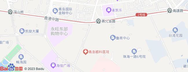 地图哈尔滨市利民开发区珠海路