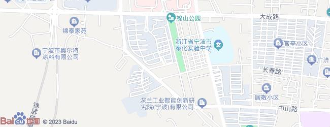 锦山风景区地图